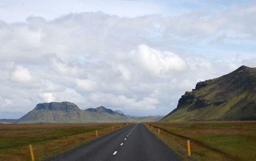 Estradas na Islândia